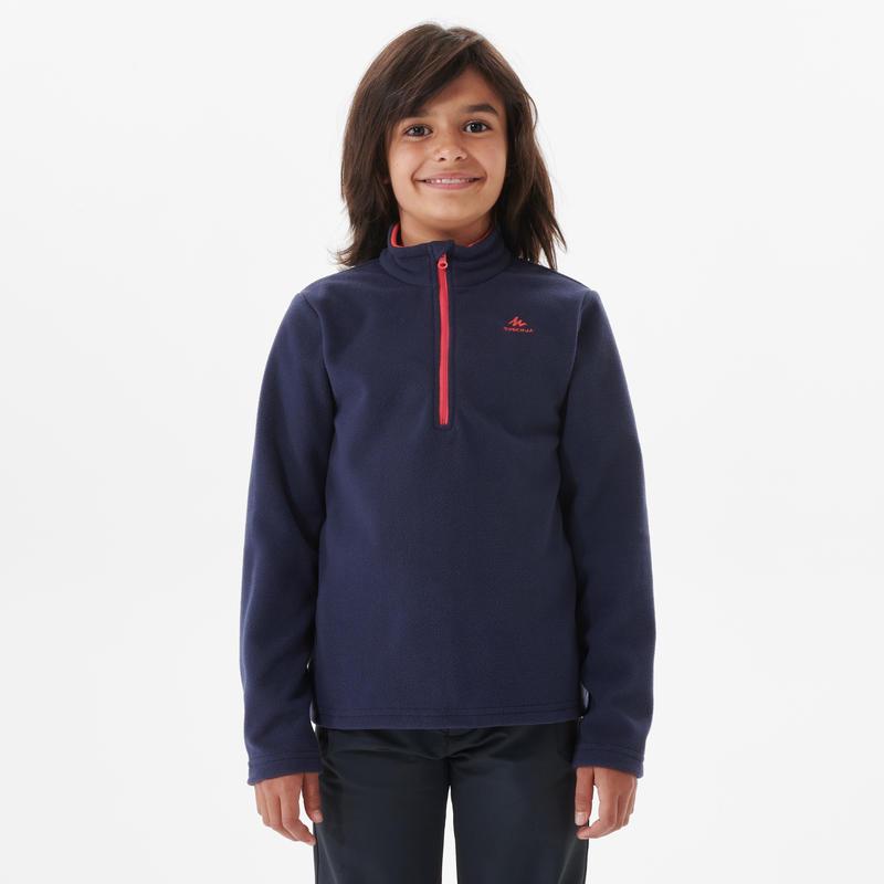 Chandail de laine polaire de randonnéeMH100 – Enfants