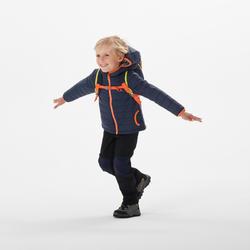 Doudoune de randonnée - MH500 bleue marine - enfant 2 - 6 ans
