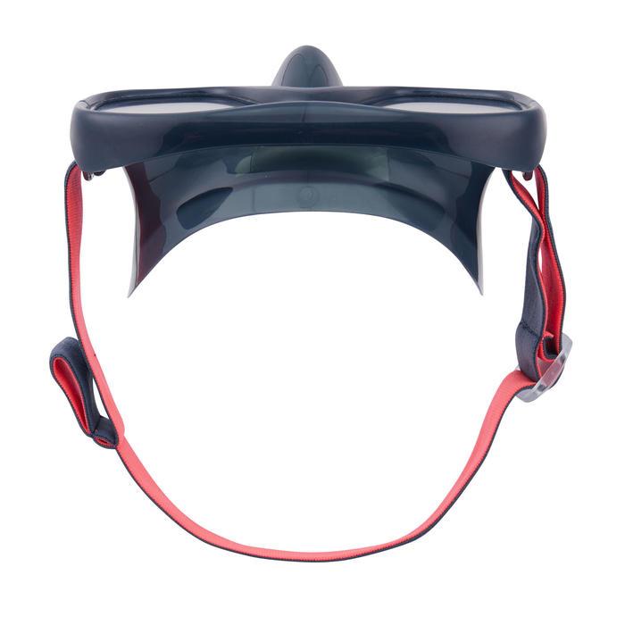 呼吸管面鏡組SNK MS 520 成人款-黑色