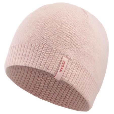 Ski Hat Simple - Pale Pink