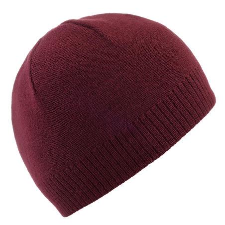 Ski Hat Simple - Burgundy