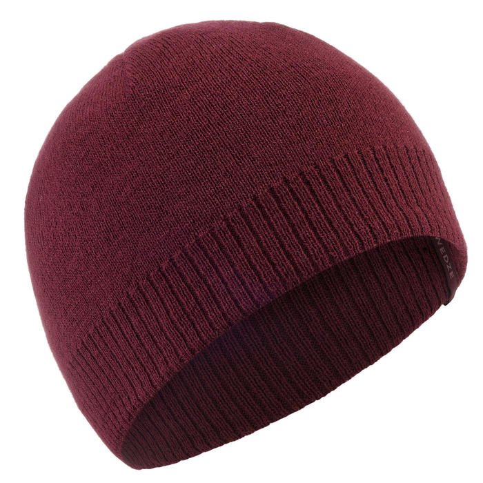 BONNET DE SKI SIMPLE BORDEAUX