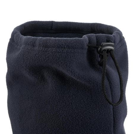 Schlauchschal Fleece Tanka Erwachsene marineblau