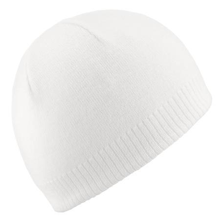 Ski Hat Simple - White