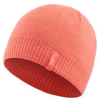 Ski Hat Simple - Coral