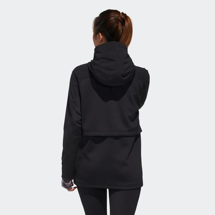 Vest voor cardiofitness dames zwart