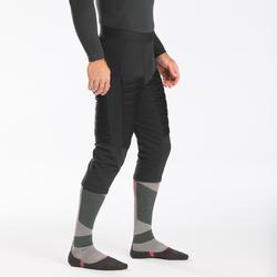 Calções Térmicos de ski freeride homem FR900 cinzento
