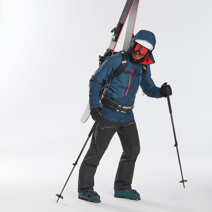 Veste de ski Freeride homme JKT SKI FR900 bleu marine