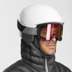 Veste de ski Freeride homme couche 2 doudoune FR900 Warm Gris anthracite