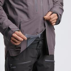 Casaco de ski Freeride SKI FR900 homem Lilás acinzentado