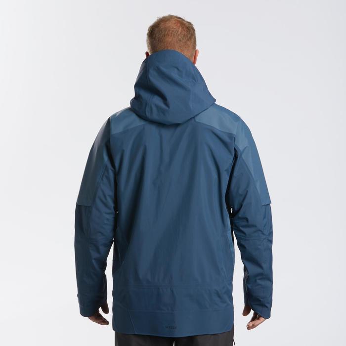 Casaco de ski Freeride SKI FR900 homem Azul-marinho