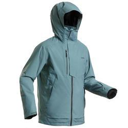 Ski-jas voor heren Freeride FR100 kaki