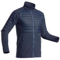 Midlayer ski-jas voor heren freeride FR900 Light marineblauw
