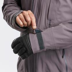 Skijacke Freeride 900 Herren grauviolett