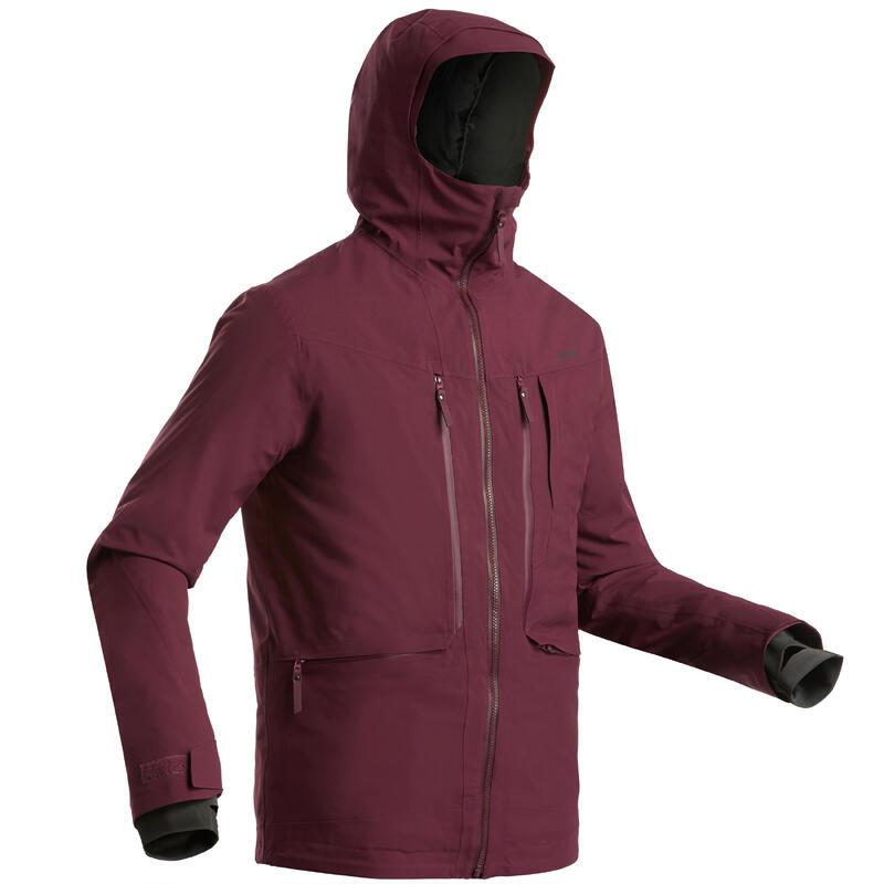 Chaqueta de esquí Freeride hombre JKT ESQUÍ FR500 H Burdeos