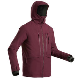 Winterjas heren waterdicht | Ski jas heren | Freeride FR500 | Paars | Wedze