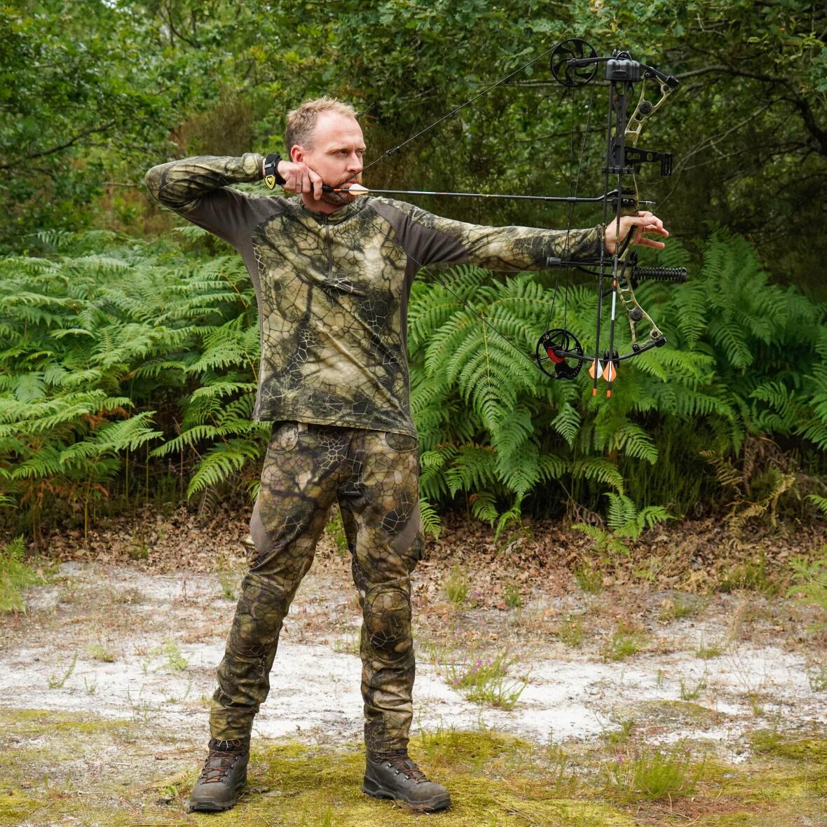position tir chasse à l'arc
