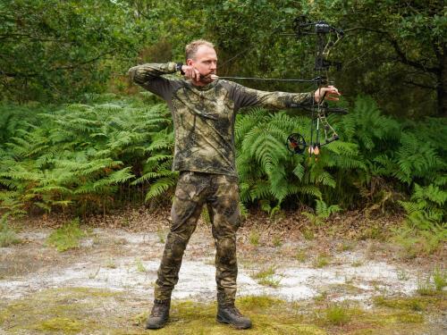 entrainement de la chasse à l'arc