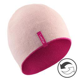 Skimuts Reverse voor kinderen roze/roze
