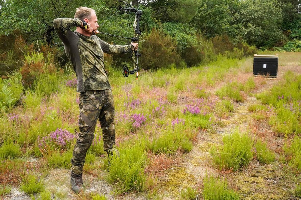 entrainement chasse à l'arc 10 metres