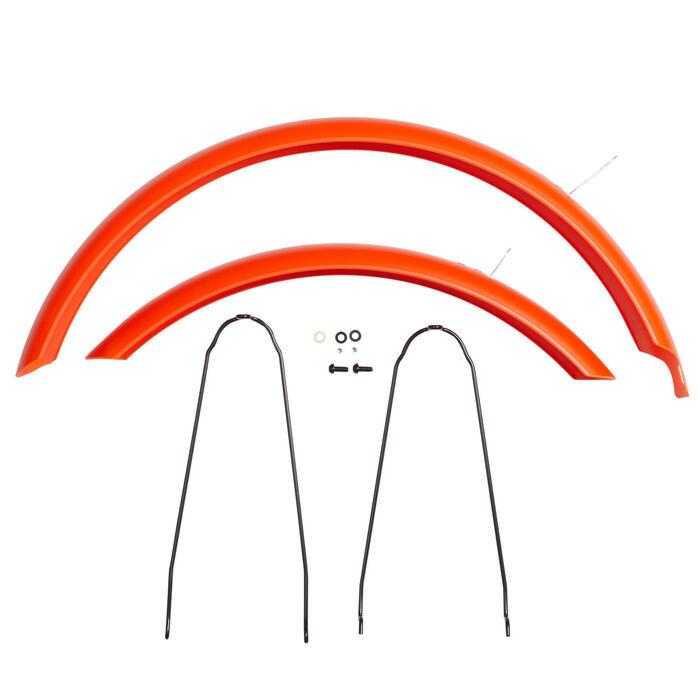 Garde boue vélo 20 pouces Orange