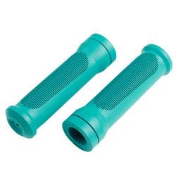 Poignées vélo 20 et 24 pouces turquoise (paire)