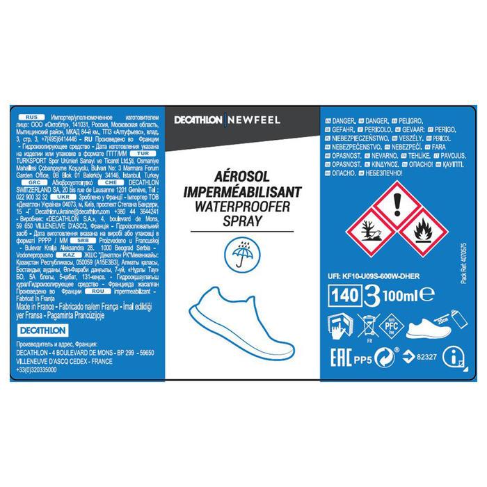 Imperméabilisant / anti-tâche cuir et textile chaussures marche Aérosol 100mL