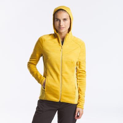 Veste polaire de randonnée montagne -MH900 - femme