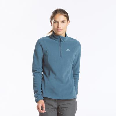 Women's Mountain Walking Fleece MH100 - Grey