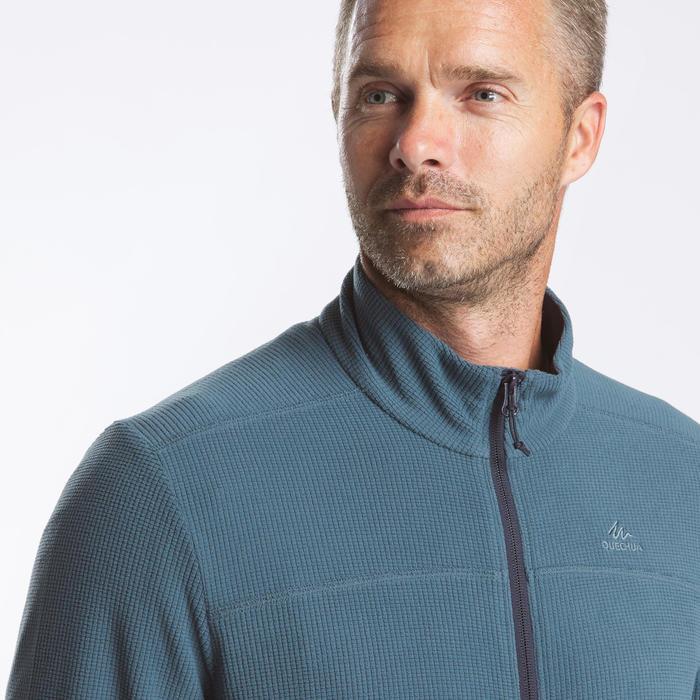 男款登山健行刷毛外套MH500