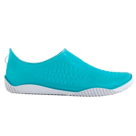 Aquafit, Aqua-aerobics and Aquabiking Fitshoe slippers - light blue