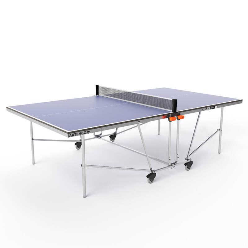 STOLY NA STOLNÍ TENIS DO KAŽDÉHO POČASÍ RAKETOVÉ SPORTY - VNITŘNÍ STŮL FT 730 INDOOR PONGORI - Stolní tenis, ping pong