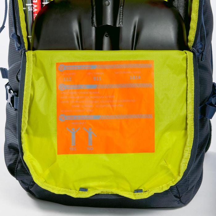 Rugzak voor toerskiën 35-50L