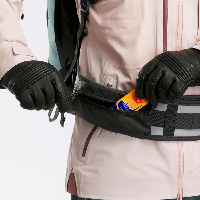 Sac à dos snowboard et ski Freeride BP SKI FR500 Defense M/S Vert