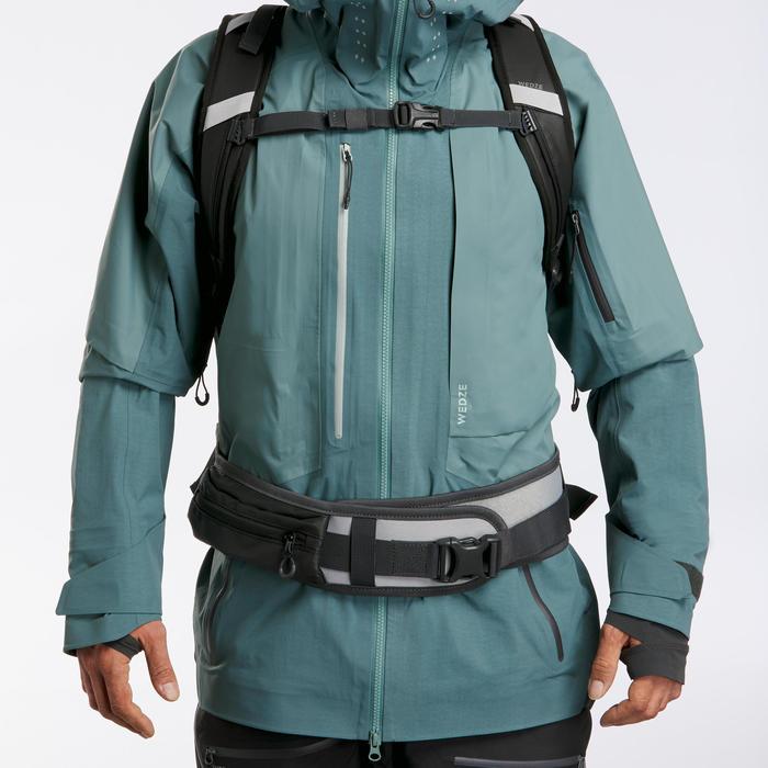 Sac à dos snowboard et ski Freeride BP SKI FR500 Defense L/XL Gris
