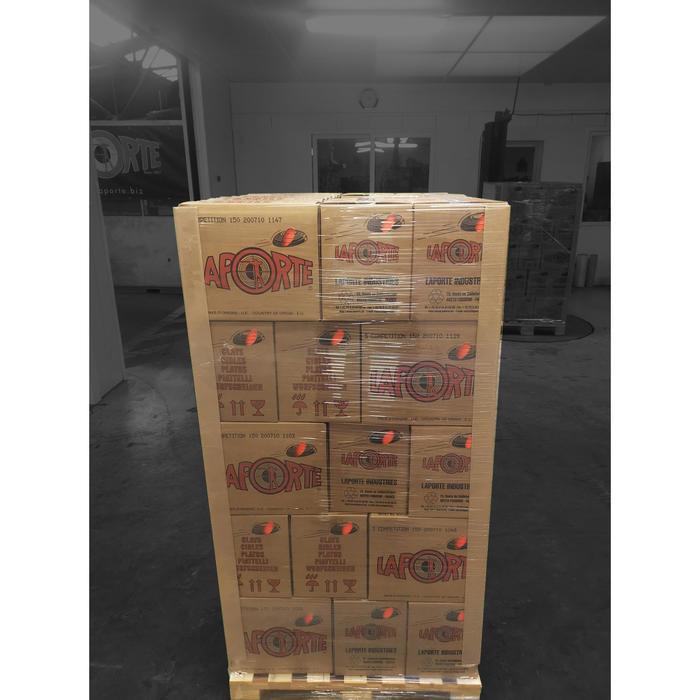 PALETTE PLATEAUX BALL TRAP STANDARD 55 cartons x150 plateaux LAPORTE