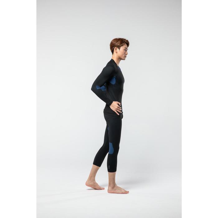 Men's skiing base layer bottom BL 580 i-Soft Black