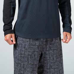 T-Shirt Manches Longues 520 Homme Gris et Noir