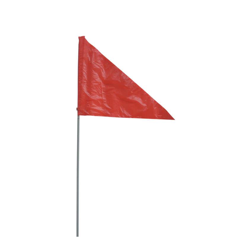 HIBRIDNA KOLESA, DODATKI Kolesarstvo - Zastava za prikolico na kolesu HAMAX - Potovanje, shranjevanje in prevoz