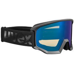 Ski- en snowboardbril UVEX ATH ZWART S2
