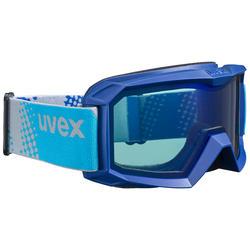 Ski- en snowboardbril UVEX FLIZZ BLUE