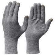Adult Mountain Trekking Seamless Liner Gloves Trek 500 - grey
