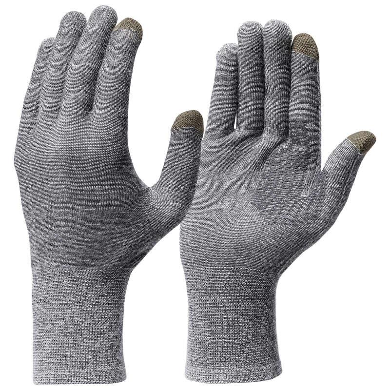 ПЕРЧАТКИ ВЗРОСЛЫЕ Одежда - НИЖНИЕ ПЕРЧАТКИ TREK 500 FORCLAZ - Головные уборы и перчатки