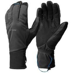 Winddichte handschoenen voor bergtrekking volwassenen Trek 900 grijs
