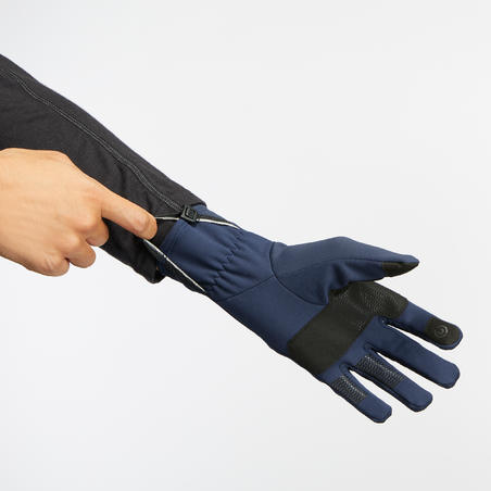 Trek 500 Mountain Trekking Breathable Gloves - Adults