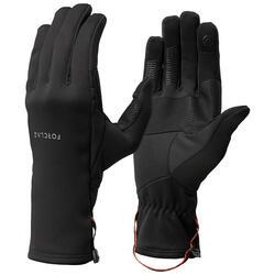 Handschuhe Bergtrekking Trek 500 Stretch Erwachsene schwarz