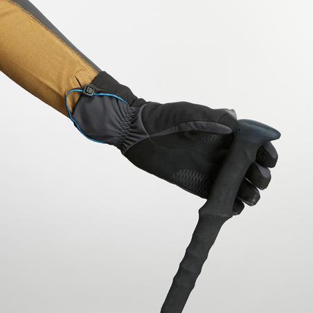 Gants coupe-vent de randonnée en montagne Trek 900 - Adultes