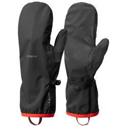 Overhandschoenen voor bergtrekking Trek 500 zwart