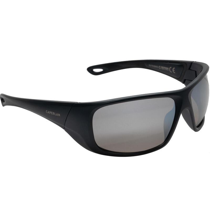 Kid's polarising fishing eyewear SKYRAZER 500 - grey