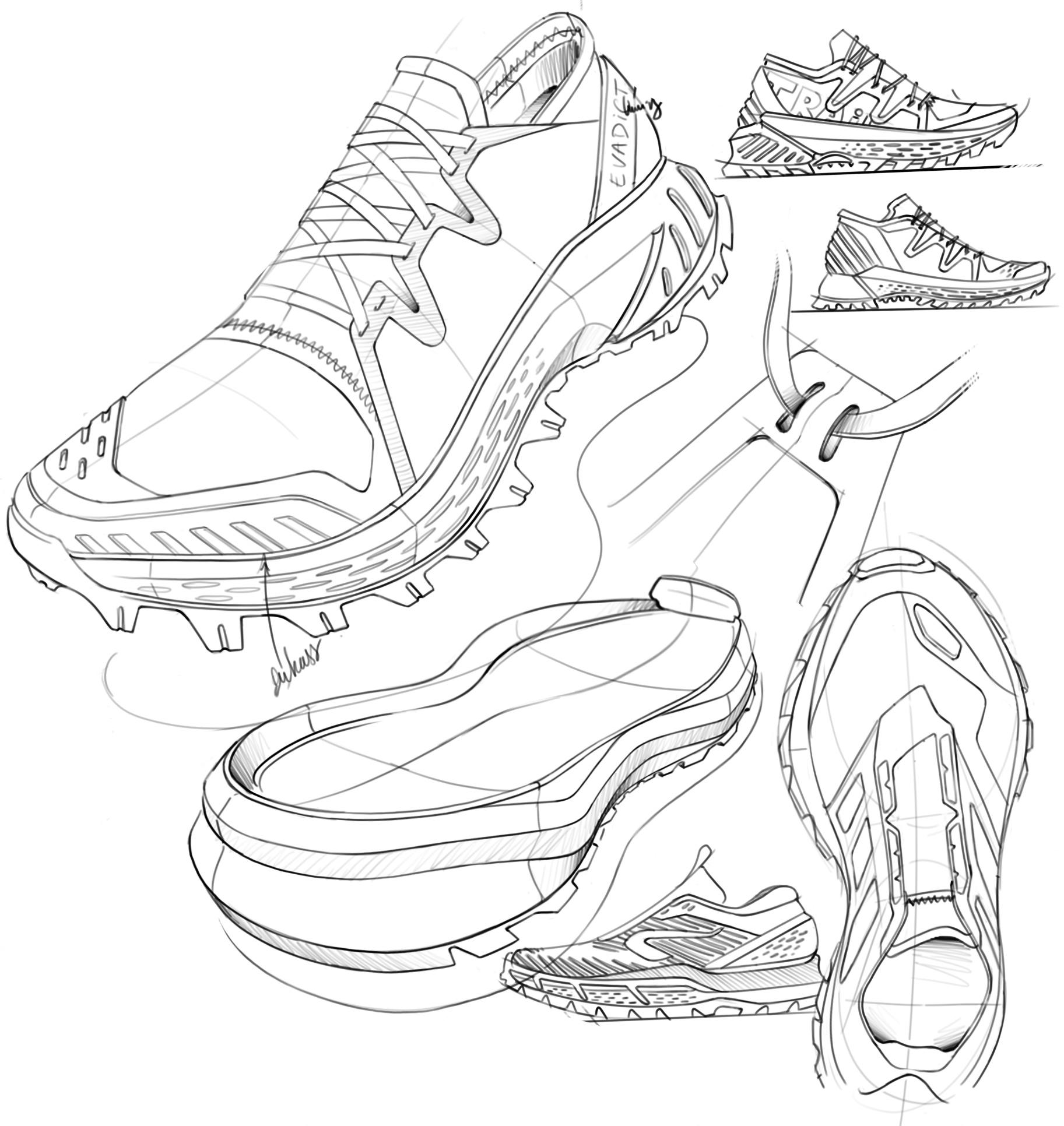 koşu ayakkabılarında yastıklama